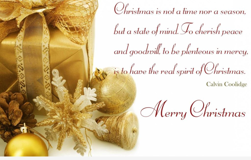 Beau Merry Christmas Quotes 2016