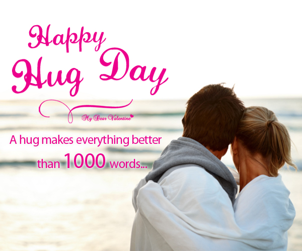 Happy Hug day images with wishes