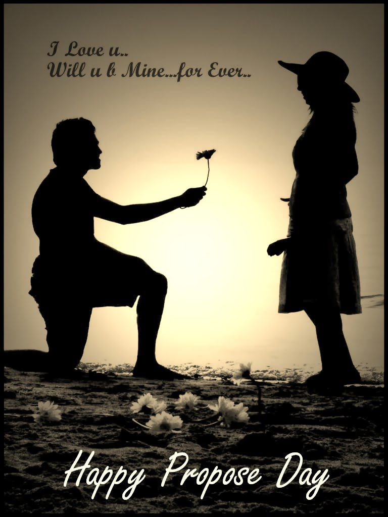 Happy propose day images with love quotes for girlfriend