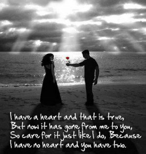 short love quotes for him or her