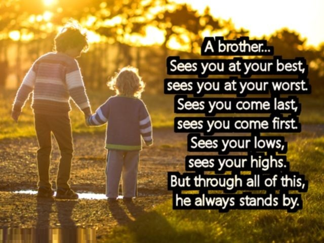 Love quotes for brother